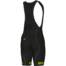 Alé Cycling Graphics PRR Strada Bib Shorts Herren black flou yellow